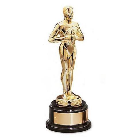 statuetta Oscar premio cinematografico