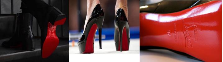 Christian Louboutin suole rosse come marchio
